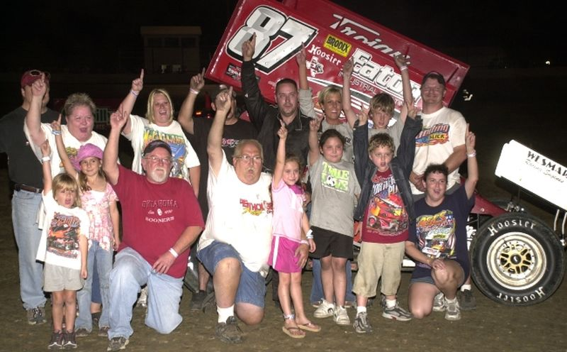 Brian McClelland put the wraps on the 2007 American Bank of Oklahoma ASCS
