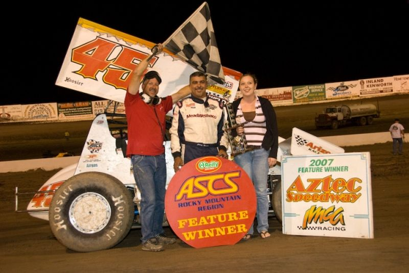 Albuquerque's Johnny Herrera topped both nights of ASCS Rocky Mountain Region