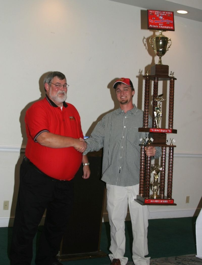 T.J. Winegarnder ASCS Rebel Region Champion 2007