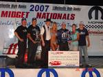 Jerry Coons Jr. A Feature Winner Belleville Midget Nationals 07/28/2007