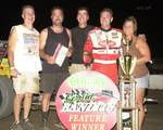 Dave Darland and the Trucker's 24-Hour Road Service Team in victory lane