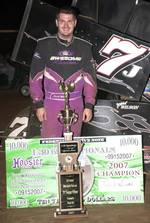 Jerrod Wilson pocketed $10,000 by winning the Second Annual 600 Nationals