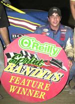 Sixteen-year-old Chris Windom captured his first career O'Reilly Sprint Bandits