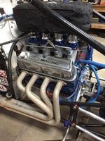 11w Tony Wondra's Ford 360 MSA sprint engine
