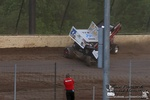 Kyle Sauder CRASH NRA 360 Sprint Invaders @Eldora (Photo#1 of 12!!) 5/26/13