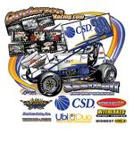 2008 #39 sprint car back side