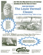Louie Vermeil Classic at Calistoga Speedway Aug 30th-31st