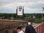 World of Outlaws Sprints at Lucas Oil Speedway in Wheatland, Mo