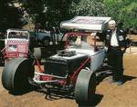 Clyde Palmer, still another legend in hardtop racing in California. He drove the # 10 Dean Van Lines car.