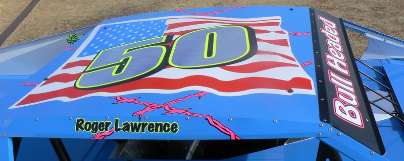 top of Roger's car