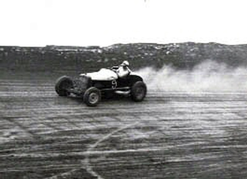 Bob James at Marion, Ohio Speedway