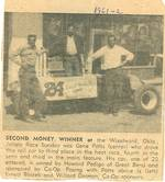 1961 / 62  Second money winner in Woodward, Oklahoma