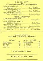 1961 banquet results