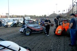 2013 USAC Turkey Night Grand Prix autograph session