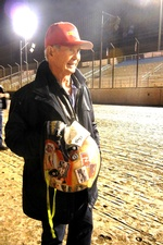 Parnelli Jones at Perris for 2014 Turkey Tight Midget Grand Prix